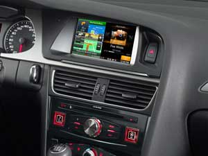 Navigation System for Audi A4 - X701D-A4