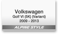 VW Golf VI (5K) (Variant) 2009 - 2013