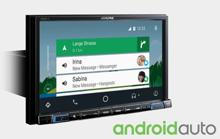 Works with Android Auto - X802D-U