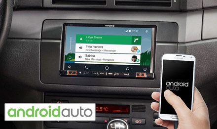BMW 3 E46 - Works with Android Auto - iLX-702E46