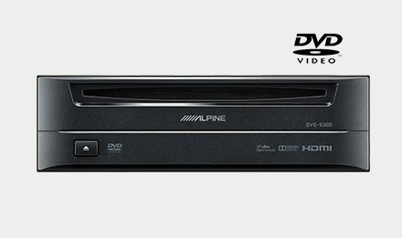 Ducato, Jumper and Boxer - DVD Player DVE-5300