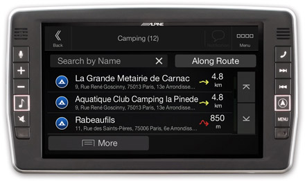Mercedes Sprinter - Navigation - Importable camper POI databases - X903D-S906