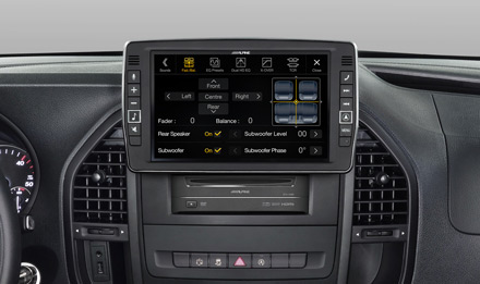 Mercedes Vito - Fader and Balance  - X902D-V447